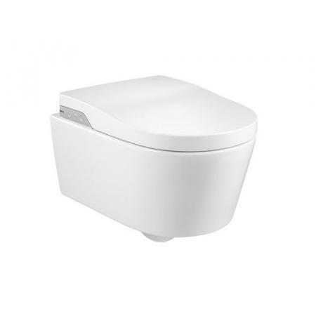 Roca Inspira In-Wash Miska WC podwieszana 56,2x39 cm z deską myjącą, biała A803060001