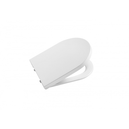 Roca Inspira Round Deska sedesowa wolnoopadająca Compacto, biała A80152C00B