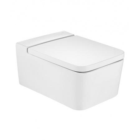 Roca Inspira Square Toaleta WC podwieszana 37x56x44 cm bez kołnierza, biała A346537000