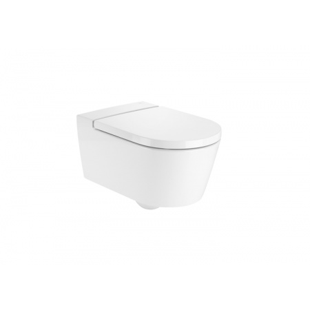 Roca Inspira Round Toaleta WC 37x56 cm bez kołnierza, biała A346527000