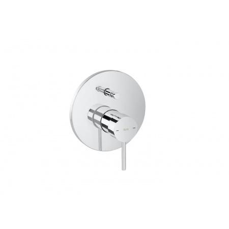 Roca Lanta Jednouchwytowa bateria wannowo-prysznicowa podtynkowa, chrom A5A0B11C00
