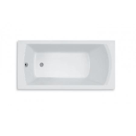 Roca Linea Wanna prostokątna 160x75x50,5 cm akrylowa, biała A24T026000