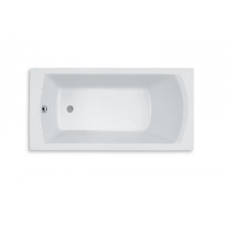 Roca Linea Wanna prostokątna 170x75x50,5 cm akrylowa, biała A24T050000