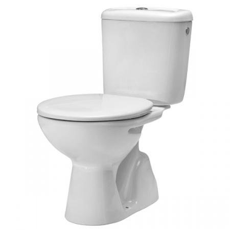 Roca Madalena Zestaw Toaleta WC kompaktowa 67x35,5 cm z deską sedesową, biała A349597000