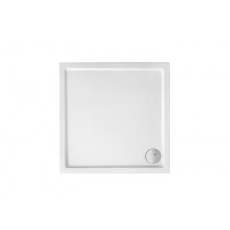Roca Malaga Medio Brodzik prostokątny 80x80x7,5 cm akrylowy, biały A27T004000