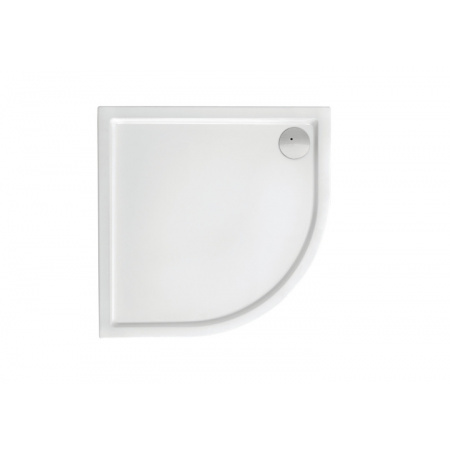 Roca Malaga Compact Brodzik półokrągły 90x90x13 cm akrylowy, biały A276260000