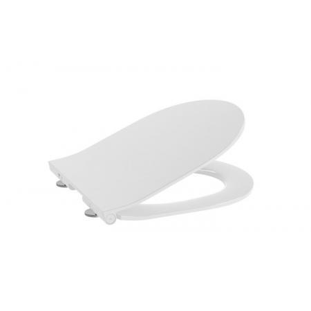 Roca Meridian Compacto Deska wolnoopadająca Slim Duroplast biała z powłoką EasyClean A8012B2002