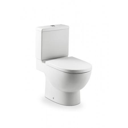 Roca Meridian Toaleta WC kompaktowa 37x64,5x79 cm odpływ podwójny z powłoką MaxiClean, biała A34224700M