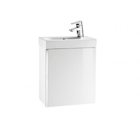 Roca Mini Umywalka meblowa z szafką podumywalkową Unik 45x25x57,5 cm, biała A855873806