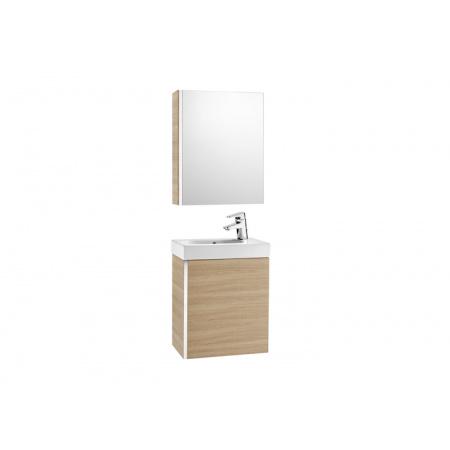 Roca Mini Zestaw łazienkowy 45x25x57,5 cm z lustrem, dąb A855866155