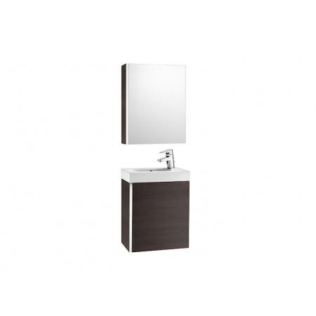 Roca Mini Zestaw łazienkowy 45x25x57,5 cm z lustrem, wenge A855866154