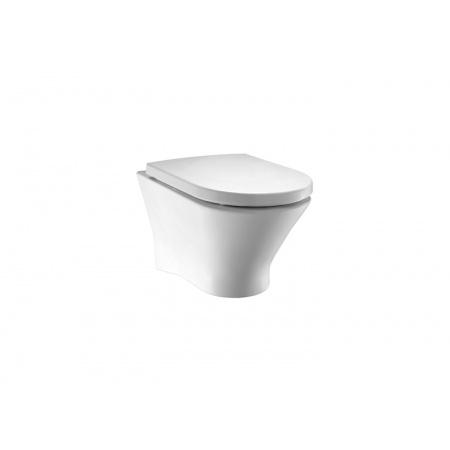 Roca Nexo Toaleta WC podwieszana 36x53,5x34,5 cm bez kołnierza, biała A34664L000