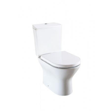 Roca Nexo Toaleta WC kompaktowa 37,5x66,5x79 cm odpływ podwójny z powłoką MaxiClean, biała A34264000M