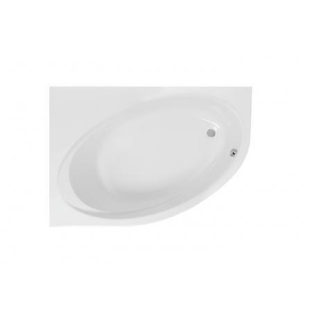 Roca Orbita Wanna narożna asymetryczna 140x100x45 cm akrylowa lewa, biała A24T185000