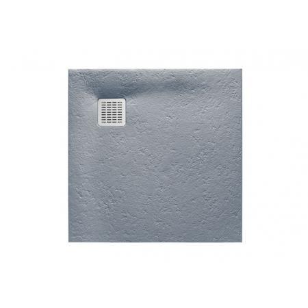 Roca Terran Brodzik kwadratowy 100x100x2,8 cm kompozytowy szary cement AP033E83E801300