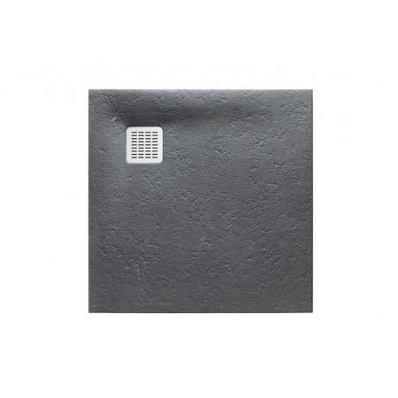 Roca Terran Brodzik kwadratowy 100x100x2,8 cm kompozytowy szary łupek AP033E83E801200