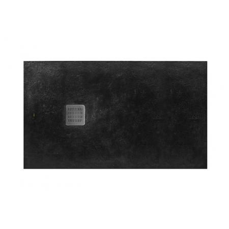 Roca Terran Brodzik prostokątny 140x100x3,1 cm kompozytowy czarny AP015783E801400