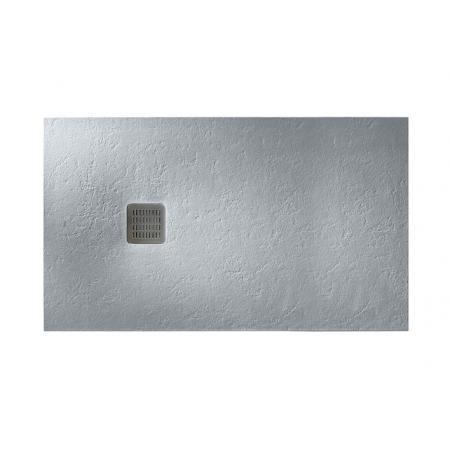 Roca Terran Brodzik prostokątny 140x100x3,1 cm kompozytowy szary cement AP015783E801300