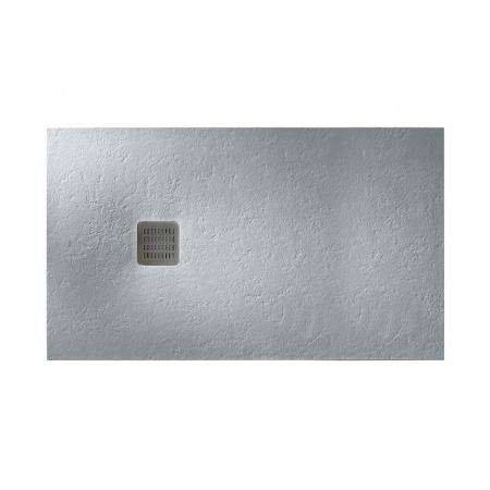 Roca Terran Brodzik prostokątny 180x100x3,1 cm kompozytowy szary cement AP017083E801300