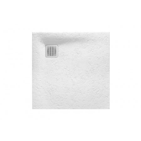 Roca Terran Brodzik prostokątny 80x80x2,6 cm kompozytowy, biały AP0332032001100