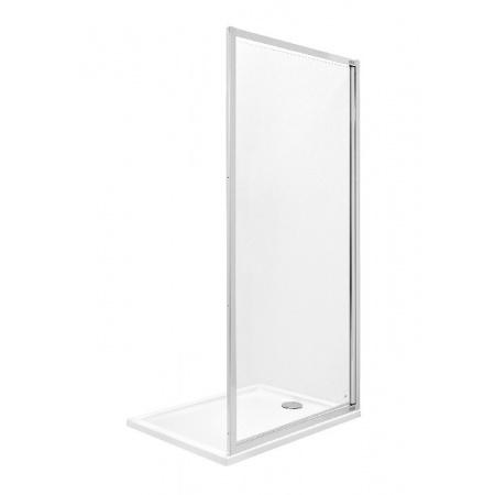Roca Town Ścianka boczna 100x195 cm z powłoką MaxiClean, profile chrom szkło przezroczyste AMP2010012M