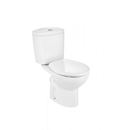 Roca Victoria Toaleta WC kompaktowa 37x66,5x78 cm odpływ poziomy, biała A342395007