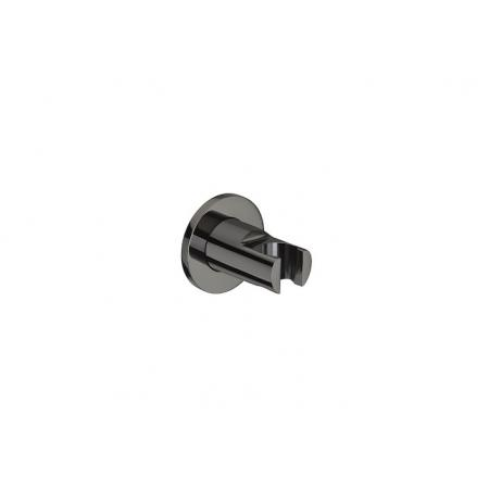 Roca Black Round Uchwyt do słuchawki prysznicowej czarny A5B1350CN0