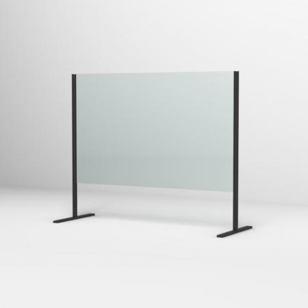 Ronal Sanswiss Ekran ochronny recepcyjny 120x80 cm czarny mat SSSH1200800607