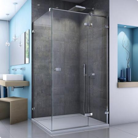 Ronal Sanswiss Escura Ścianka boczna 80x200 cm, profile połysk szkło przezroczyste EST10805007