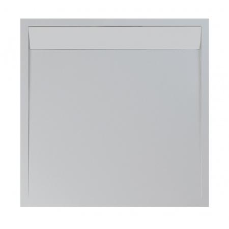 Ronal Sanswiss Ila Brodzik konglomeratowy kwadratowy 90x90 cm pokrywa biała, biały WIQ0900404