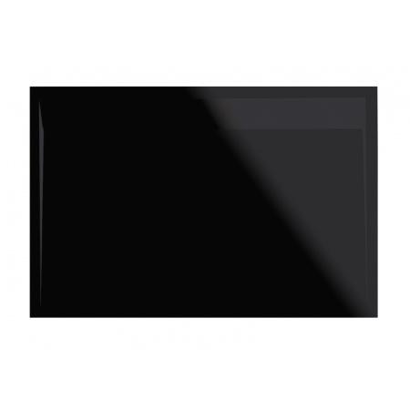 Ronal Sanswiss Ila Brodzik konglomeratowy prostokątny 80x100 cm pokrywa czarny mat, czarny granit WIA8010006154