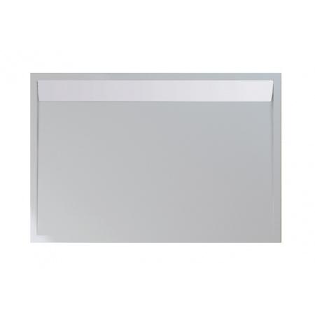 Ronal Sanswiss Ila Brodzik konglomeratowy prostokątny 90x100 cm pokrywa biała, biały WIA901000404