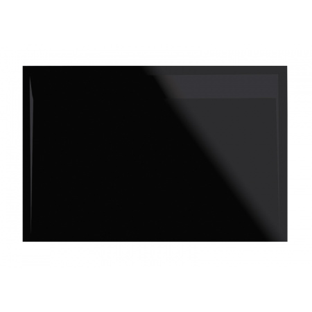 Ronal Sanswiss Ila Brodzik konglomeratowy prostokątny 90x100 cm pokrywa czarny mat, czarny granit WIA9010006154