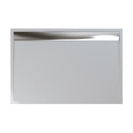 Ronal Sanswiss Ila Brodzik konglomeratowy prostokątny 90x120 cm pokrywa połysk, biały WIA901205004