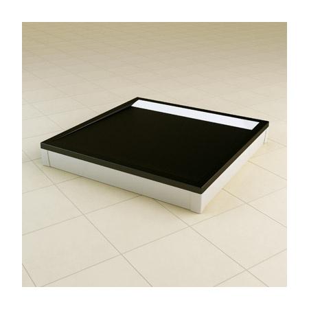 Ronal Sanswiss Obudowa brodzika 80x120x80 cm, biała PWIU801208004