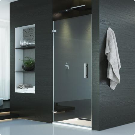 Ronal Sanswiss Pur Drzwi jednoczęściowe do 100x200 cm lewe, profile chrom szkło przezroczyste PUR1GSM11007