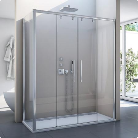 Ronal Sanswiss Pur Light S Ścianka boczna 80,1-120x200 cm, profile połysk szkło przezroczyste PLSTSM45007