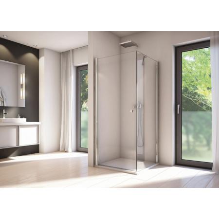 Ronal Sanswiss Solino SOLT1 Ścianka boczna 75x198,4 cm, profile srebrny połysk szkło przezroczyste Aquaperle SOLT107505007