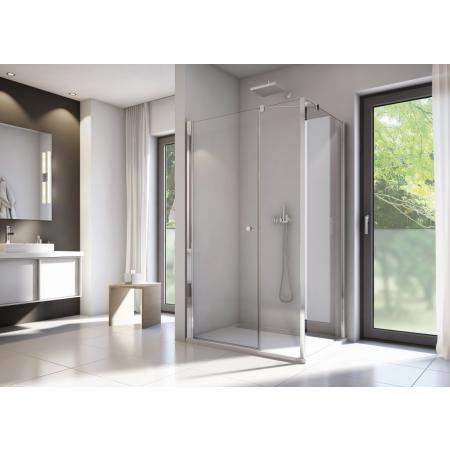 Ronal Sanswiss Solino SOLT3 Ścianka boczna 100x198,4 cm, profile srebrny połysk szkło przezroczyste Aquaperle SOLT310005007