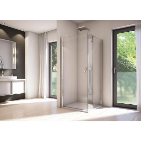 Ronal Sanswiss Solino SOLT1 Ścianka boczna 80x198,4 cm, profile srebrny połysk szkło przezroczyste Aquaperle SOLT108005007