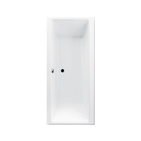 Ruben GO Wanna prostokątna 160x75x45 cm bez hydromasażu, biała RUBGOWANWOL160X75BIA