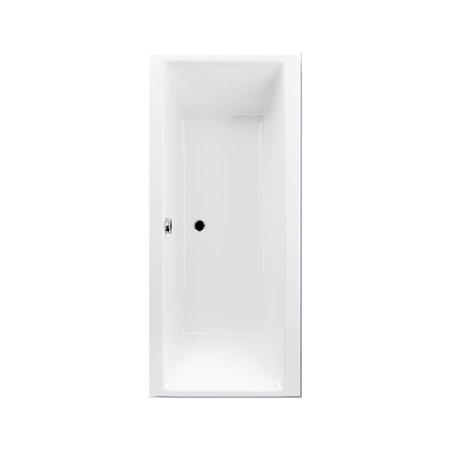 Ruben GO Wanna wolnostojąca prostokątna 160x75x45 cm z systemem hydromasażu Kenzo, biała RUBGOWANWOL160X75BIAKENZO