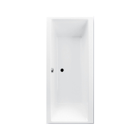 Ruben GO Wanna wolnostojąca prostokątna 160x75x45 cm z systemem hydromasażu Titan, biała RUBGOWANWOL160X75BIATITAN