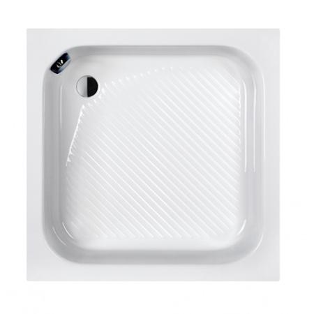 Sanplast Classic Bbs/CL Brodzik prostokątny 80x80x28 cm akrylowy, biały 615-010-0220-01-000