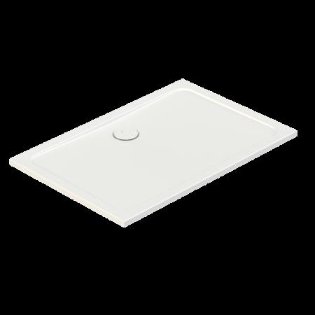 Sanplast Free Line B/FREE Brodzik prostokątny 90x75x2,5 cm akrylowy ze steleżem STB, biały 615-040-4310-01-000