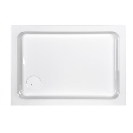 Sanplast Free Line B/FREE Brodzik prostokątny 100x70x9 cm akrylowy ze steleżem STB, biały 615-040-0070-01-000