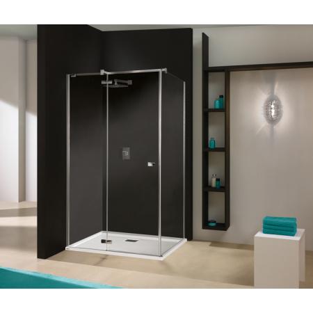 Sanplast Free Line KNDJ2/FREE Kabina prysznicowa prostokątna 100x80x195 cm z powłoką Glass Protect, profile chrom szkło przezroczyste 600-260-0650-42-401