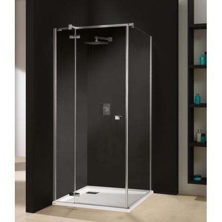 Sanplast Free Line KNDJ2/FREE Kabina prysznicowa prostokątna 90x90x195 cm z powłoką Glass Protect, profile chrom szkło przezroczyste 600-260-0610-42-401