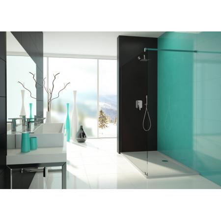 Sanplast Free Line P/FREE Kabina prysznicowa Walk-In 90x195 cm z powłoką Glass Protect, profile chrom szkło przezroczyste 600-260-0430-42-401