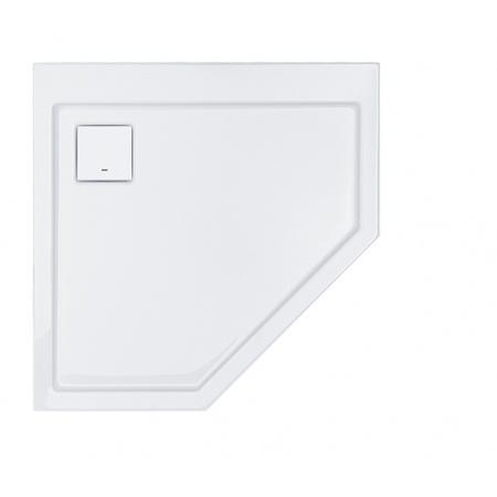 Sanplast Space Line BPK/SPACE Brodzik pięciokątny 90x90x3 cm biały 615-110-0530-01-000